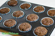 Ketogenic Diet Recipe Low Carb Double Chocolate Muffins