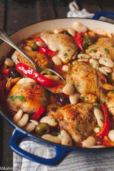 My FAVORITE Recipes: Spanish Chicken in Bravas Sauce - Vikalinka