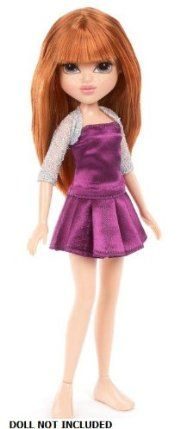 Moxie Girlz Fashion Pack - Dress PURPLE/SILVER by MGA Entertainment 1001165. $5.75. Matching Outfits for Moxie Doll. Matching Outfits for Moxie Doll