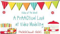 A PrAACtical Look at Video Modeling from PrAACtical AAC. The research base for using video modeling as a tool to help AAC learners understand what to do is well-documented. The folks at SCAAC-N make it look easy! Here are a few that they shared for communicating while doing a job (shredding paper).