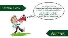 Okruh našich spokojných klientov sa neustále zvyšuje! Presvedčte sa sami a prečítajte si najnovšie referencie: http://www.archeus.sk/referencie/spokojnost-klientov/