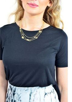 Sweet Layered Statement Necklace 16,90 € #happinessbtq