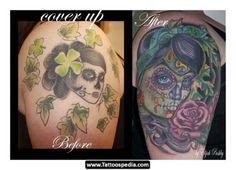 En fotos: tatuajes horribles convertidos en obras de arte