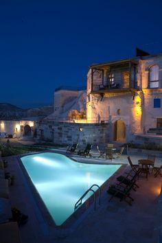 Swimming Pool in Cappadocia #Schwimmbad  www.bsw-web.de