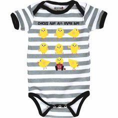 International Harvester Boy's Chicks Are All Over Me Infant Onesie -- adorable!