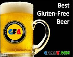 Gluten-free does not mean that you can't enjoy beer. Here's a list of the top 10 gluten-free beers that are great for anyone with a gluten sensitivity. Gluten Free Liquor, Gluten Free Beer, Gluten Free Treats, Vegan Gluten Free, Dairy Free, Wheat Free Recipes, Gluten Free Recipes, Gluten Free Living, Beer Tasting