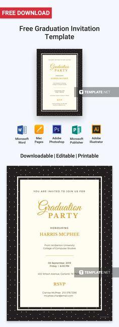 free graduation invitation template free invitation templates graduation celebration graduation invitations free samples