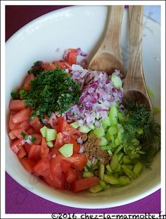 Salade Baladi | Marmotte cuisine !
