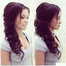 Znalezione obrazy dla zapytania fryzury ślubne długie włosy loki