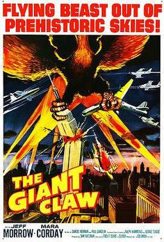 The Giant Claw - 1957 - Movie Poster