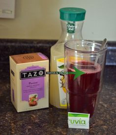Homemade Starbucks Passion Tea Lemonade