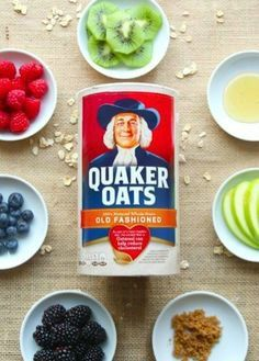 A piping hot bowl of Quaker® Oats is your bright and vibrant morning canvas. You are only limited by your imagination!