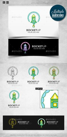 Rocket - Logo Template - Objects Logo Templates
