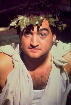 "John Belushi in ""National Lampoon's Animal House"" (John Landis, dir) College Movies, College Fun, College Life, John Belushi Animal House, Cinema Art, I Movie, Movie Stars, National Lampoon's Animal House, John Landis"