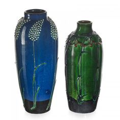 MAX LAEUGER Two vases