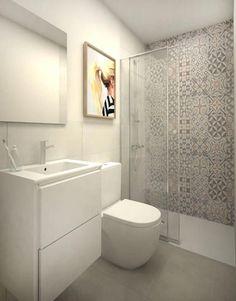 Cuarto de baño suite: Baños de estilo moderno de Grupo Inventia #DecoraciondeCuartos