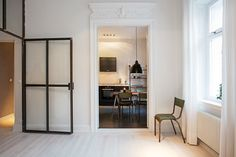 A Stockholm apartment with an industrial touch