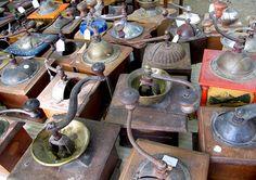 Coffee Mills - Kaffeemühlen by Heather Robinson | Lost in Arles