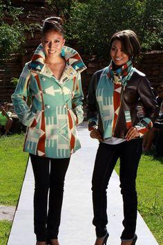 coats, Shayne Watson Designs (Diné)