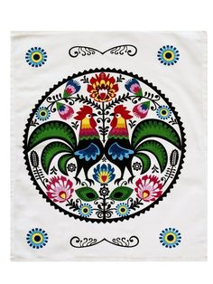 Purchase Green Poland Polish Floral Roosters Traditional Pattern Vintage Wall Art Hanging Tapestry inch from Ann Pekin Pekin on OpenSky. Hanging Tapestry, Hanging Wall Art, Vintage Wall Art, Vintage Walls, Tropical, Vintage Patterns, Poland, Traditional, Floral