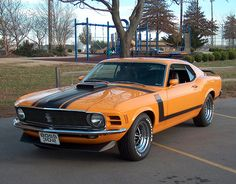FORD Mustang Boss 302 • 1970
