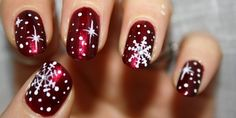 Women Daily Magazine (Christmas Inspired Nail Art Check out...)
