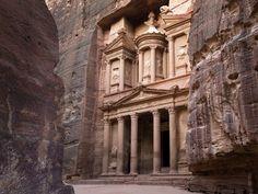 18.Petra, na Jordânia