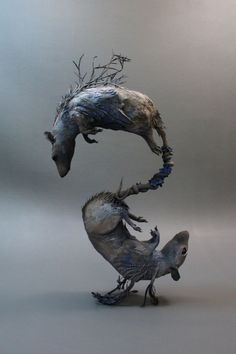 The Mythical Animals of Ellen Jewett: Sculpture Brought to Life - beautiful.bizarre magazine
