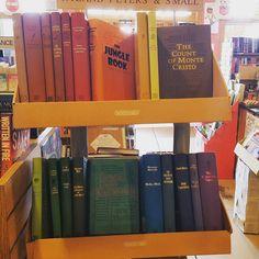 "Enjoy a ""classic"" rainbow of the day #islandbookstoreobx #readeveryday"