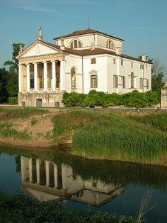 Villa Molin en Mandria (Padua), del arquitecto Vincenzo Scamozzi