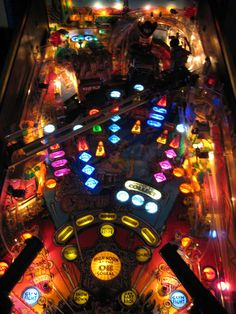 Pinball Wizard, Arcade Games, Rock And Roll, Video Games, Cactus, Electric, Lights, American, Beautiful
