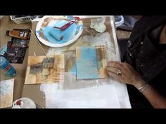 Collage and Layering Exercises Step 7 - YouTube
