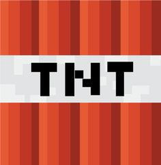 TNT, Minecraft, Party Decorations - Free Printable Ideas from Family Shoppingbag.com