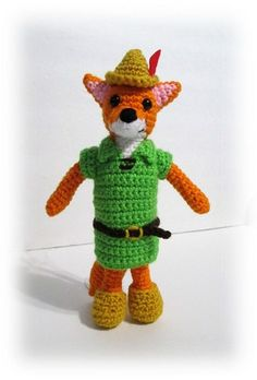 Robin Hood Amigurumi Fox