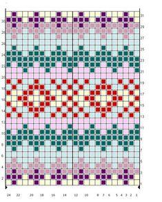 Vierzigerjahre-Pulli mit Fair-Isle-Kragen Jumper with Fair Isle Collar – Handmade Culture Fair Isle Knitting Patterns, Knitting Charts, Knitting Stitches, Free Knitting, Knitting Sweaters, Motif Fair Isle, Fair Isle Chart, Fair Isle Pattern, Tejido Fair Isle