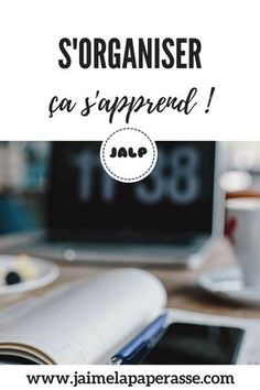 S'organiser, ça s'apprend ! Tu crois que tu n'es pas faite pour ça ? Je te montre en 5 points que tu peux y arriver. #organisation #astuces #temps #entreprise #business #jaimelapaperasse Journal Organization, Community Manager, School Hacks, Motivation, Time Management, Feel Good, Online Business, Leadership, Budgeting