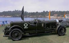 1930 Bentley Speed Six Vanden Plas Tourer - Old Number Two - svr