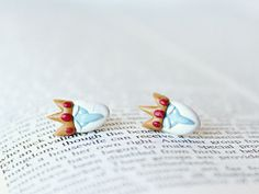 Ice King Adventure Time Earrings by CouldBeeYours on Etsy, $15.50