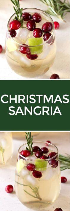 Christmas Sangria   http://cakenknife.com