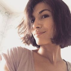 Netflix Star Elodie Yung on Becoming a Superhero and the Haircut That Changed Her Life Elodie Yung, New Short Haircuts, Short Hair Cuts, French Girl Style, Fresh Hair, Paris, Hair Inspo, New Hair, Girl Fashion