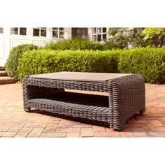 brown jordan northshore patio coffee table stock dy6061 tc at the home depot brown jordan northshore patio furniture