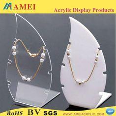 Acrilico collar display de joyería de lujo-Estantes de Expositor-Identificación del producto:1118640588-spanish.alibaba.com