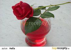 Růžový sirup Korn, Glass Vase, Food And Drink, Plants, Home Decor, Syrup, Decoration Home, Room Decor, Planters
