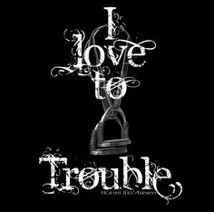 ENGLISH TROUBLE WHITE Design - www.HorseLife24Seven.com - Born in the Saddle
