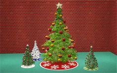 Veranka's TS2 Downloads   4t2 Functional Christmas Tree + Small Deco add-on...