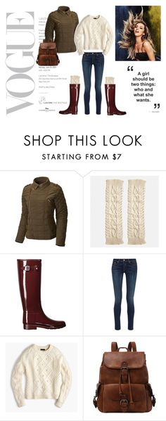 """""""Fall"""" by nikkimarc226 on Polyvore featuring SOREL, Avenue, Hunter, rag & bone and J.Crew"""
