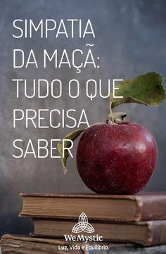 Precisa trazer o seu amor de volta? Essa simpatia da maçã vai ajudar você. Reiki, Diy Arts And Crafts, Wicca, Feng Shui, Witchcraft, Tarot, Einstein, Pray, Zen