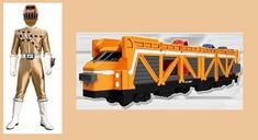 Fire Ranger and his Fire Fighter TrainZord Fire Train Ranger Power Rangers, Libro Gravity Falls, Go Busters, Fire Training, Hero Time, Picture Collection, Kamen Rider, Firefighter, Transformers