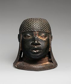 Head of an Oba  Date: 16th century Geography: Nigeria, Court of Benin Culture: Edo peoples