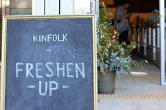 little paper trees: Kinfolk Freshen Up Workshop